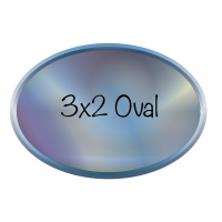 3x2 Oval Label