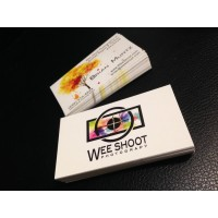14pt double sided business cards
